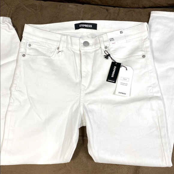 Express white jeans